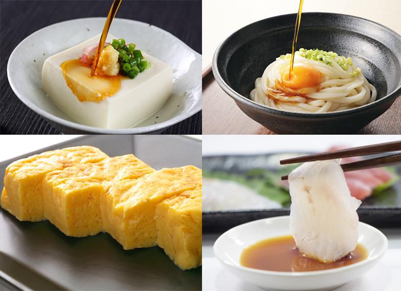 玉子ごはん専用醤油で味わえる料理
